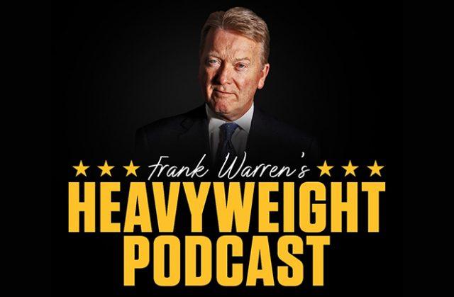Frank Warren's Heavyweight Podcast can now be heard across many platforms. Photo Credit: Frank Warren