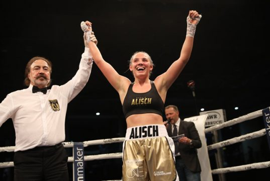 Sophie Alisch was pursued by Team Sauerland as an amateur. Photo Credit: Team Sauerland Facebook