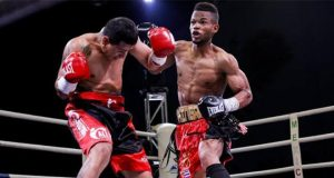 Raynel Mederos takes aim at the lightweight division. Photo Credit: Tony Tolj
