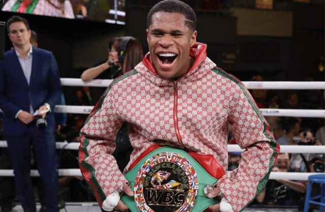 Haney has been elevated back to WBC Champion after shoulder surgery: AP
