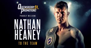 Popular Stoke Middleweight Nathan Heaney has signed with Frank Warren's Queensbury stable Credit: Frank Warren