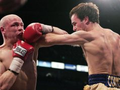 Kevin Mitchell vs Carl Johanneson. Photo Credit: Sky Sports