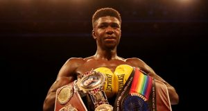 Lerrone Richards the British, Commonwealth and WBO European and International champion. Photo Credit: Frank Warren