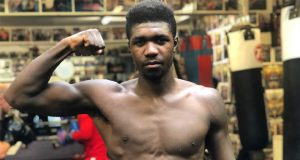 Lerrone Richards in his former gym, iBox in Bromley. Photo Credit: Sports Betting Dime