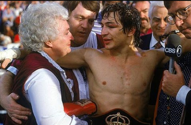 'Boom Boom' realised his fathers dream when he became World champion. Photo Credit: boxing.com