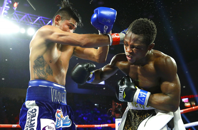 Navarrete proved the doubters wrong twice to beat Isaac Dogboe Credit: Mikey Williams/Top Rank