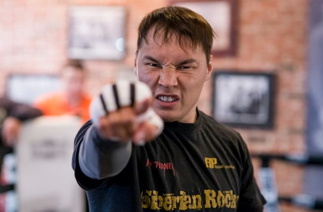 Ruslan Provodnikov during one of his training camps. Photo Credit: WBN