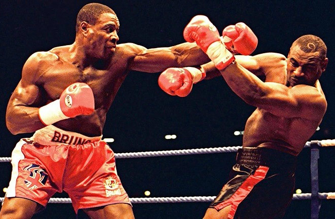 Frank Bruno went on to defeat Oliver McCall for the World title a year later. Photo Credit: The Fight City