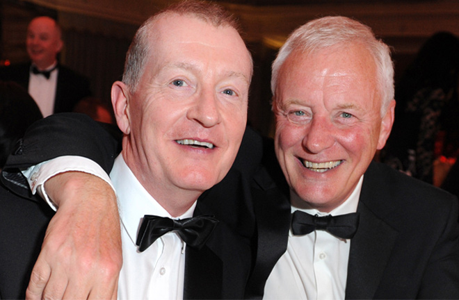 Steve Davis and Barry Hearn in more recent times. Photo Credit: WST.tv