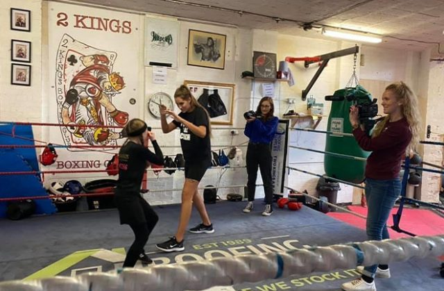 Whitney Clark has ambitions to become a professional boxing coach. Photo Credit: Whitney Clark.