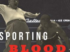 Sporting Blood is also available from Amazon.com: Credit: Amazon
