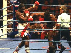 Lennox Lewis vs Frank Bruno, The Battle of Britain. Photo Credit: The Telegraph