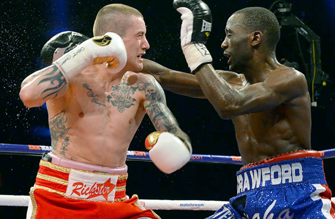 Burns has fought the very best including pound-for-pound star Terence Crawford Photo Credit: ringtv.com