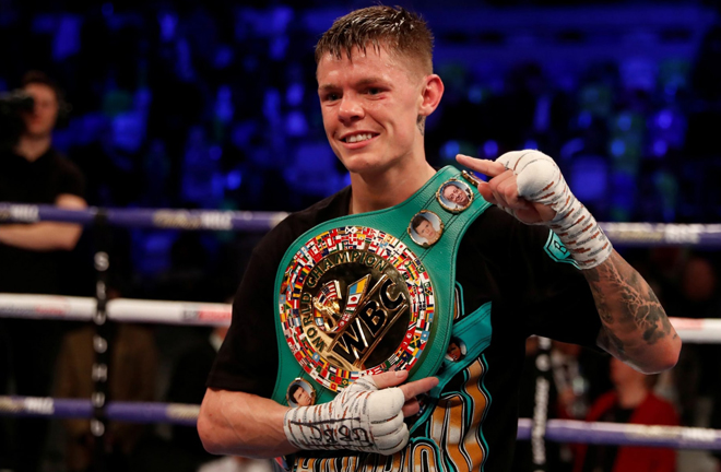 Edwards vacated the WBC Flyweight title in last October Credit: Action Images