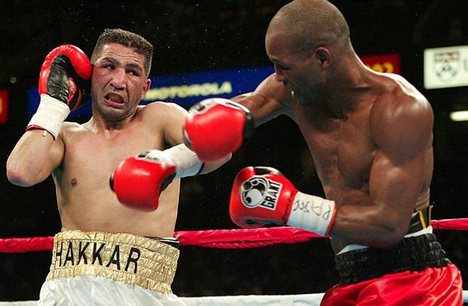 Hakkar proved no match for Hopkins in Philadelphia Photo Credit: AFP
