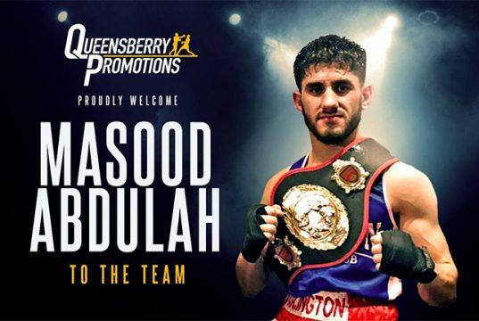 Masood Abdullah od Islington ABC has joined Frank Warren in the professional ranks. Credit: Frank Warren