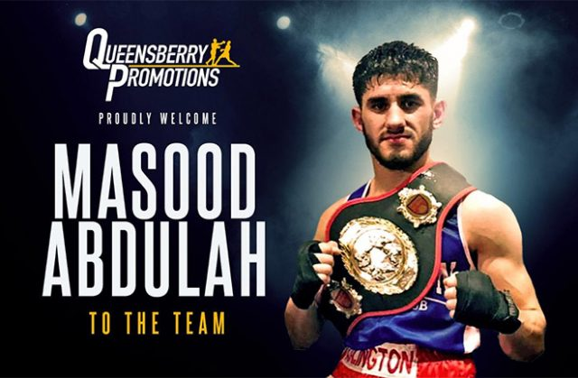 Masood Abdullah od Islington ABC has joined Frank Warren in the professional ranks. Credit: Frank Warren