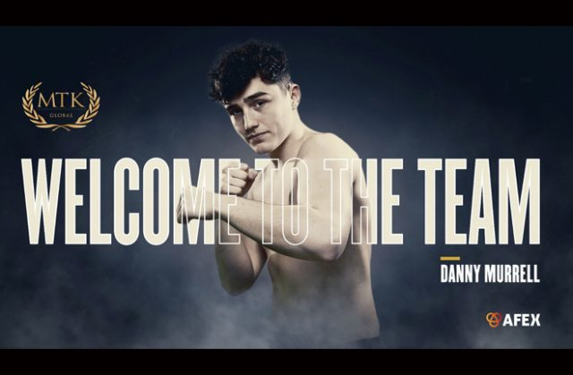 Dave Allen's protégé Danny Murrell will be managed by MTK Global ahead of his professional debut Credit: MTK Global