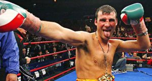 Joe Calzaghe is one of Britain's finest ever fighters Photo Credit: showmastersonline.com