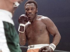 Joe Frazier during his fighting days. Photo Credit: ESPN
