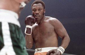 Joe Frazier during his fighting days. Photo Credit: ESPN