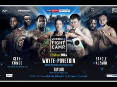 Dillian Whyte and Alexander Povetkin will clash on week four of Matchroom 'Fight Camp' Photo Credit: Matchroom Boxing
