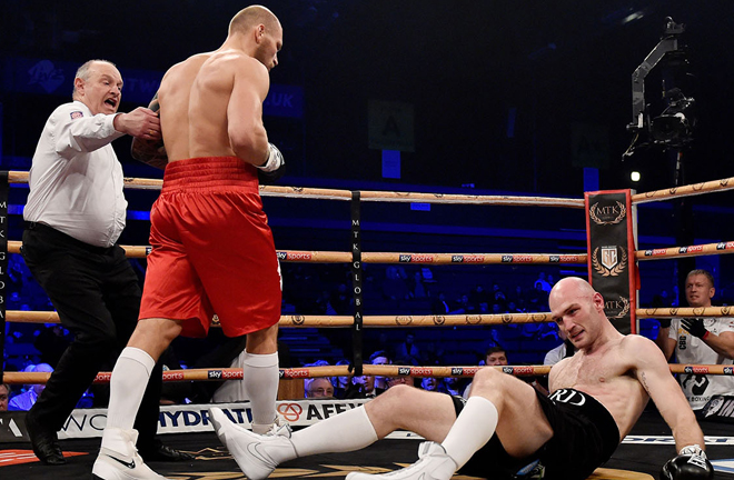 The Latvian reached the Golden Contract last four with a first round win over Steven Ward last December Photo Credit: Action Images/Adam Holt via boxingnewsonline.net