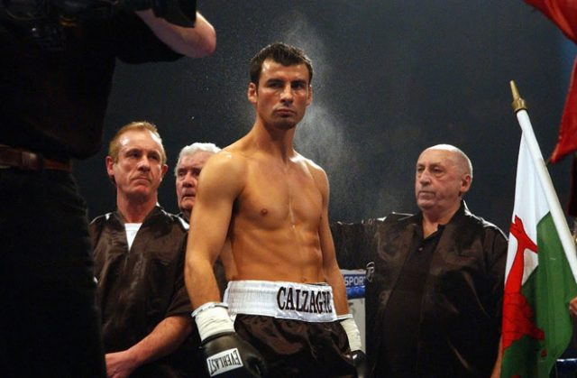 Joe Calzaghe, the Super-Middleweight King. Photo Credit: Money Inc