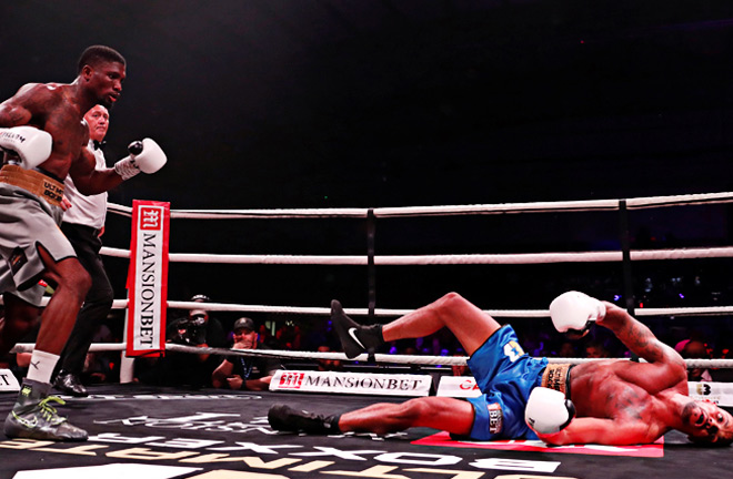 'Chambo was stopped by Michael Lawal and is now seeking a rematch. Photo Credit: Boxing News