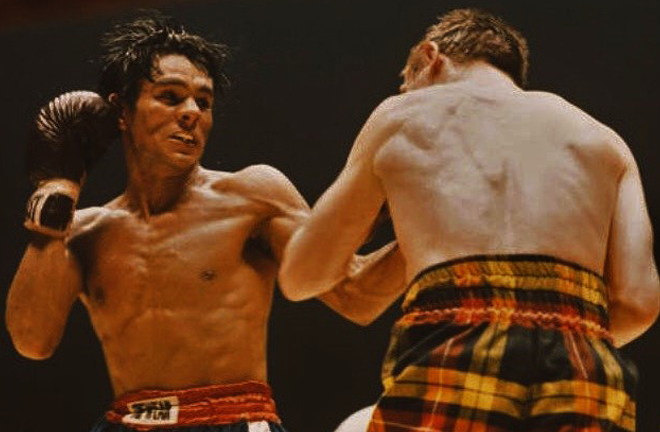 Roberto Durán claimed his first World title against Scottish great Ken Buchanan in 1982 Photo Credit: The Fight City