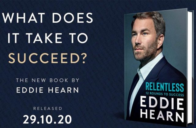 Promoter Eddie Hearn will release his first book in October Photo Credit: Matchroom Boxing