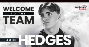 Decorated amateur John Hedges has turned over with Matchroom and will be managed by S-Jam Boxing Photo Credit: Matchroom Boxing