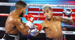 A fight with Jessie Magdaleno at 126lbs could be a possibility for Navarrete Photo Credit: Mikey Williams/Top Rank