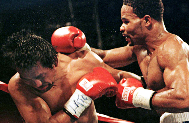William Joppy ended Durán's hopes of a final World title, retaining his WBA Middleweight crown in three rounds in 1998 Photo Credit: Action Images/Reuters
