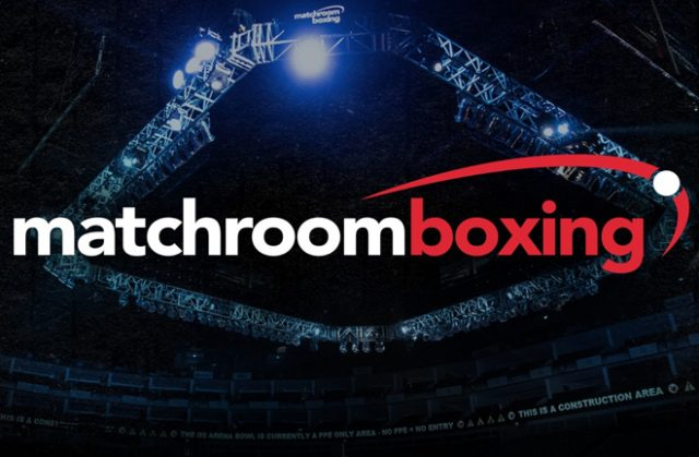 Matchroom have confirmed their Cardiff and Newcastle shows have been rearranged Photo Credit: Matchroom Boxing