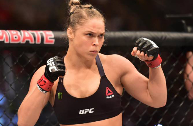 Stretch directed a Netflix film based on former MMA star Ronda Rousey Photo Credit: Jason Silva-USA TODAY Sports