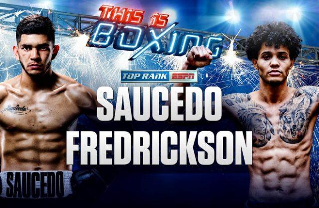 Alex Saucedo vs Sonny Fredrickson. Credit: Top Rank