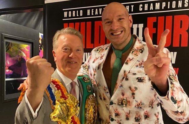 Warren believes WBC World champion Tyson Fury is the world's best Heavyweight Photo Credit: Instagram / @frank_warren_official