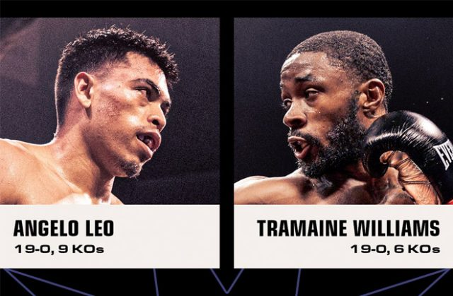 Angelo Leo will now face Tremaine Williams after Stephen Fulton Jr tested positive for COVID-19. Photo Credit: Showtime Boxing