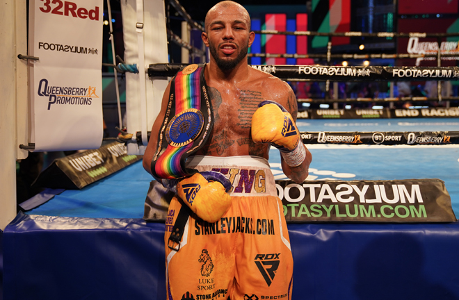 Arthur has set up a mouthwatering Autumn clash with Anthony Yarde Photo Credit: Queensberry Promotions