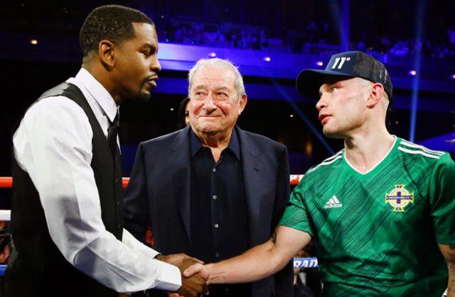Frampton is set to meet Jamel Herring later this year Photo Credit: Boxing Scene