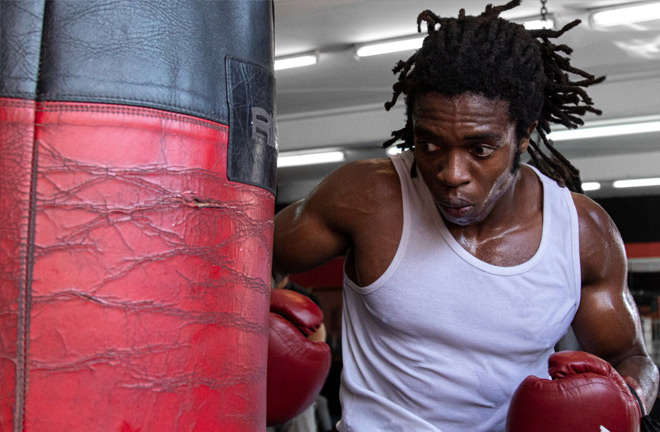 A late comer to the sport, Ignatius is ready to make his mark in British boxing. Photo Credit: Twitter / @mrfrankignatius