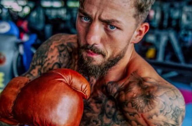 Reynolds turned his life around after finding boxing. Photo Credit: Twitter @reynoldsboxing