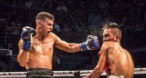 'Action' Jackson England breaks into the WBC top 40 World Rankings. Photo Credit: Boxing Scene