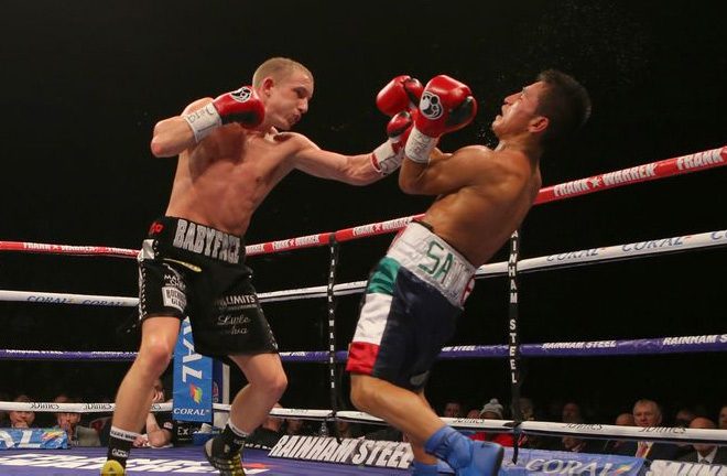 "Paul Butler was close to securing a ""big fight"" before the global pandemic stopped it. Photo Credit: Sky Sports"