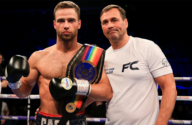 Cash defeated Jack Cullen last November to retain Commonwealth belt Photo Credit: Simon Stacpoole