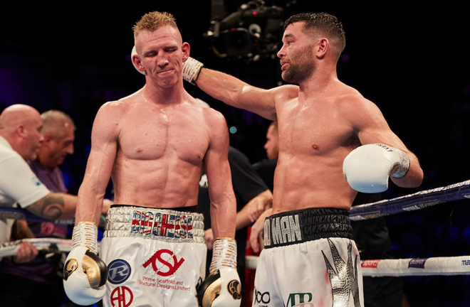 Cheeseman lost his British title to Scott Fitzgerald last October Photo Credit: Matchroom Boxing