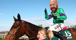 Tyson Fury triumphed on the race track last weekend in Doncaster