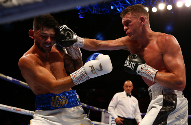 Gwynne was beaten in his first Lonsdale title tilt by compatriot Joe Cordina Photo Credit: Matchroom Boxing