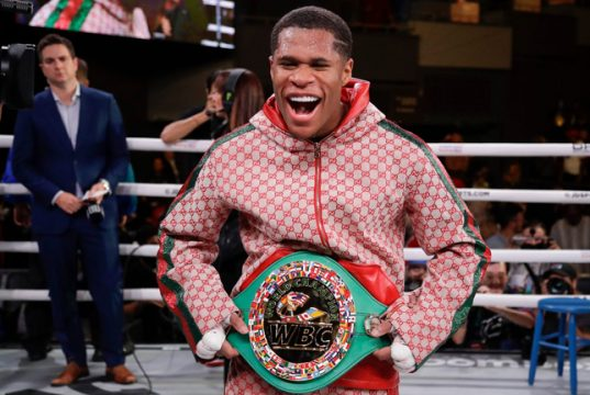Devin Haney insists he has been avoided by his 135lbs rivals Photo Credit: AP Photo/Frank Franklin II